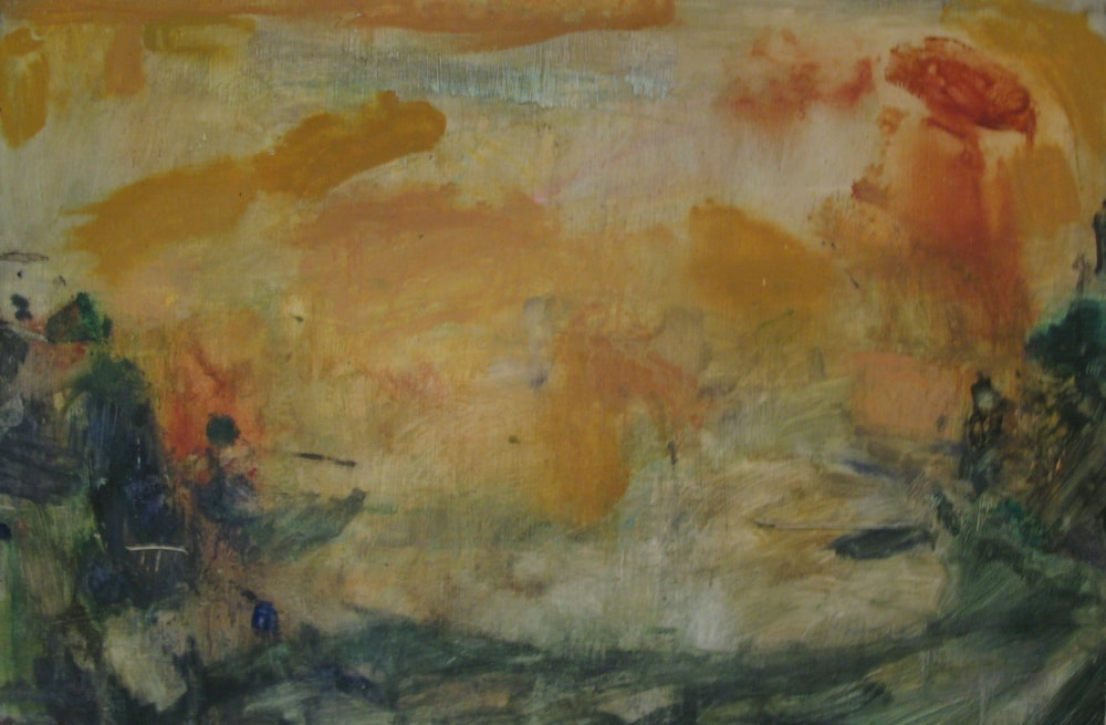 After Turner (1 Of 4), 2006 Oil on Board