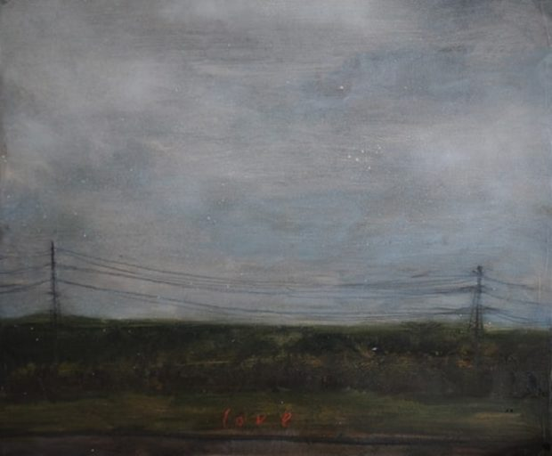 Love (electric), 2015 Oil on Canvas 61 x 50 cm