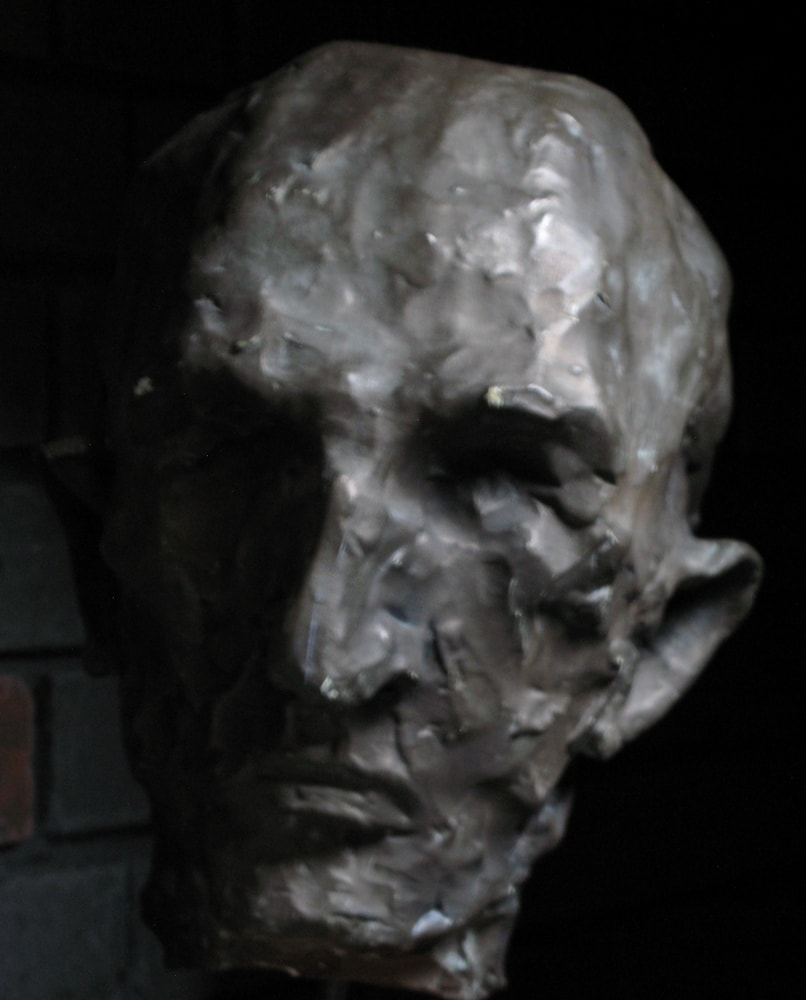 The First Bronze Sculpture, 1998 Bronze