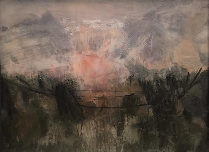 UK Rhythm: strong heavy horizon, 2011 Oil on Canvas 98 x 72