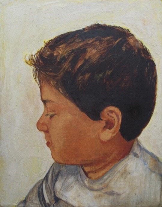 Eliyah, 2014 Oil on Canvas