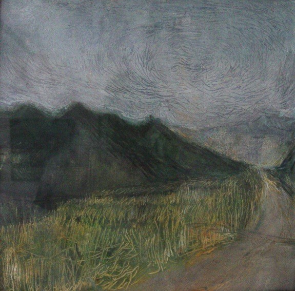 Tuscan Landscape I, 2000 Oil on Canvas