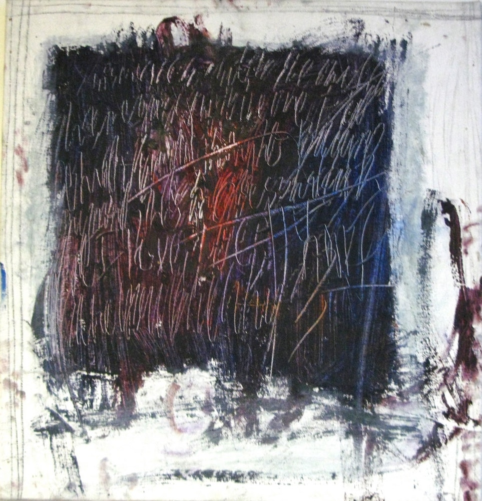 Anger, 2000 Oil on Canvas