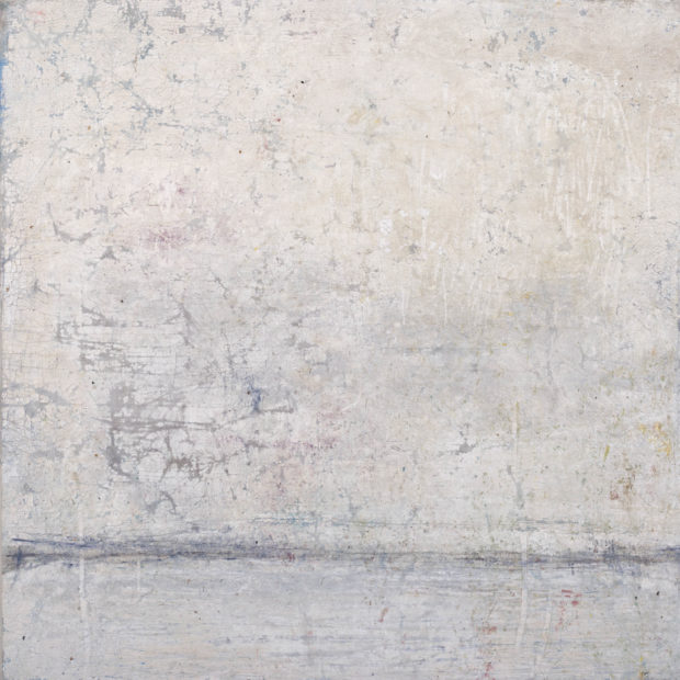 Untitled (Letting light in 13). 65 x 65 cm. Oil on Linen