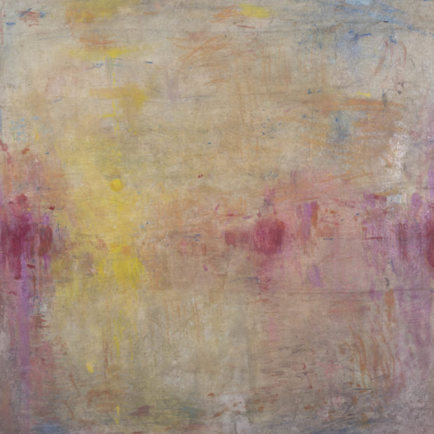 Untitled (Letting light in 10). 95 x 95 cm. Oil on Linen.